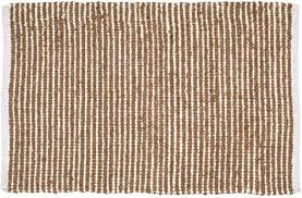 classic country jute cotton rug 2x3