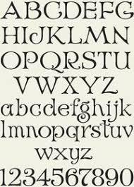letterhead fonts design gallery