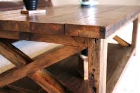 projects rustic table plans diy coffee
