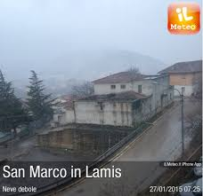 Foto meteo - San Marco in Lamis - San Marco in Lamis ore 7:25 ...