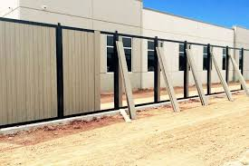 How To Install A Fence Mounted To Concrete A Better Approach