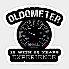 top funny oldometer 40th birthday gift