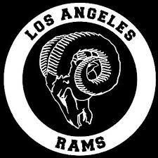 Los Angeles Rams Vinyl Decal Sticker Window Wall Bumper Car White Ebay