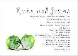wedding invitation wording for pas