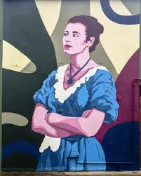 Mural of Limerick movie star Constance Smith unveiled