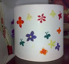 Nishya Creations Lamp Shades For Kids Room Fabric Painting