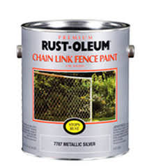 Decorative Paint Chain Link Fence Rust Oleum Facade For Metal For Outdoor Use