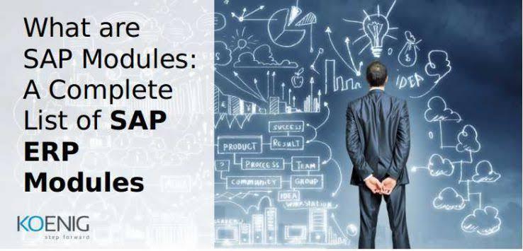 SAP ERP Modules