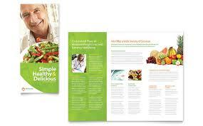 t nutrition brochure templates