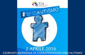 settimana blu dell'autismo 2016