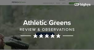 athletic greens reviews