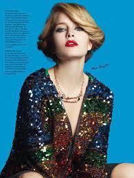 disco beauty editorials seventies style