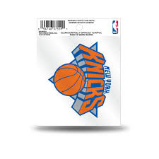 Rico Nba New York Knicks Logo Static Cling Auto Decal Car Sticker Smal Sportzzone