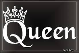 Queen Decals Stickers Decalboy