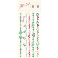 Tatuaze Bransoletki Zmywalne Souza For Kids Dadum Krakow