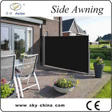 Outdoor Retractable Wind Screen Side Awning Screen For Balcony Uv Proof View Folding Balcony Screen Blue Sky Product Details From Blue Sky Leisure Products Co Patio Fence Wind Screen Patio