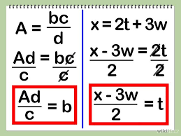 literal equations teaching math