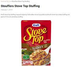 stouffers stove top stuffing