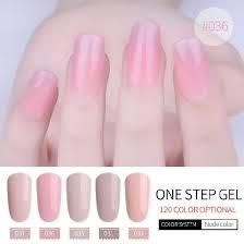 one step gel uv curing gel polish