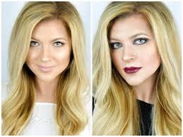 light vs dark makeup looks