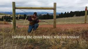 Fixing Fences Adding Cross Bracing To H Braces And Installing A Cattle Gate On The Place Youtube