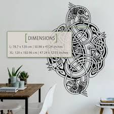 Celtic Dragon Wall Decal Kuarki Lifestyle Solutions