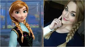 frozen anna makeup tutorial you