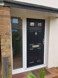 four panel two square composite door