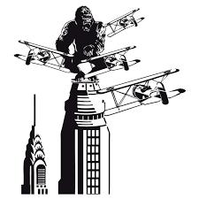 Wall Sticker King Kong In New York Muraldecal Com