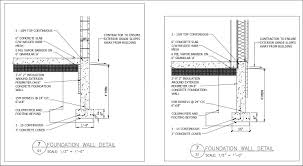 Free Cad Details Foundation Wall Detail Cad Design Free Cad Blocks Drawings Details