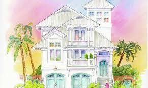 10 3 story beach house plans ideas