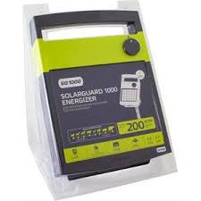 Order Patriot Solar Guard 1000 Solar Energizer 40 Miles 140 Acres Speedrite Electric Fence Chargers Energizers Tru Test Livestock Scales From Valley Farm Supply