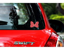 Minnie Bow Decal Etsy