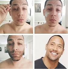 guys doing makeup transformations on