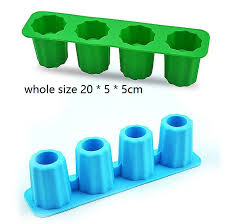 diy ice shots glass silicone mold cup