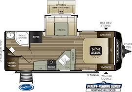 cougar half ton travel trailers 22rbs
