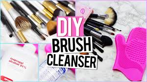 how to clean makeup brushes diy brush