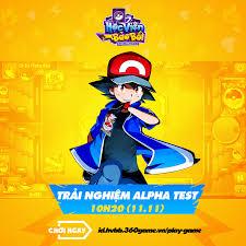 11.11 - Game đấu bài Pokemon - H5 Học Viện Bảo Bối mở cửa Alpha ...