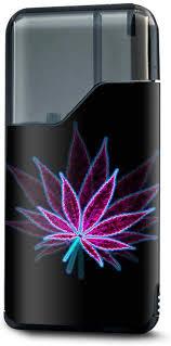 Amazon Com It S A Skin Decal Vinyl Wrap For Suorin Air Vape Pod System Mod Stickers Sleeve Pot Leaf Marijuana Psychedelic 3d Trippy