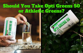 opti greens 50 or athletic greens