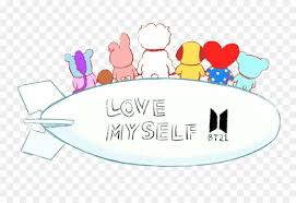 bts love yourself logo png