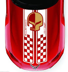 Product Corvette Racing Hood Decal Stripes C3 C4 C5 C6 C7 Zo6 Zr1 Stingray And Many More