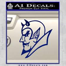 Blue Devils Duke Decal Sticker A1 Decals
