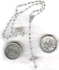 lourdes rosary from vatican city