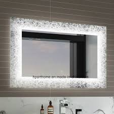 backlit mirror bathroom mirror