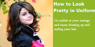 how to look pretty in uniform