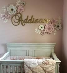 Gold Glitter Name Sign For Nursery Baby And Kids Room Decor Etsy