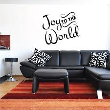 Joy To The World Christmas Quote Wall Decal Vinyl Decal Car Decal Vd203 36 Inches Walmart Com Walmart Com
