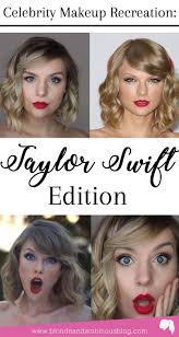 taylor swift makeup tutorial red