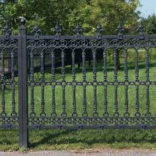 Ornamental Fence Panel Posts Not Included Acanthus By The Sea